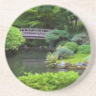 Japanischer Garten, Portland, Oregon, USA 2 Untersetzer
