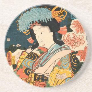 Japanischer Schauspieler (#2) (Vintager Untersetzer