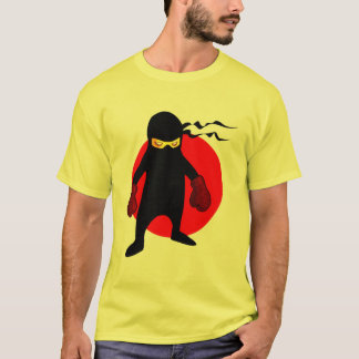Japanisches Cartoon Ninja Boxer-Shirt T-Shirt