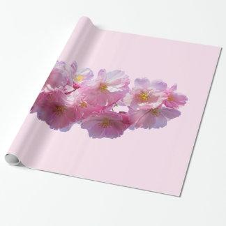 Japanisches Kirschblüten-Packpapier Geschenkpapier