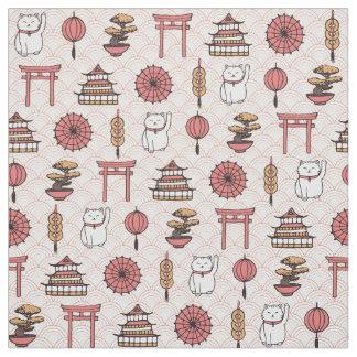 Japanisches Muster Stoff