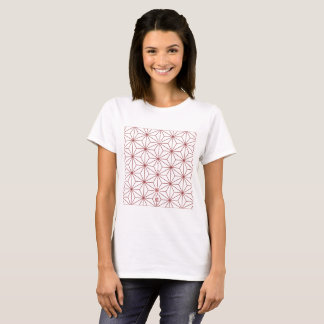 """Japanisches traditionelles Muster """"ASANOHA"""" T-Shirt"""