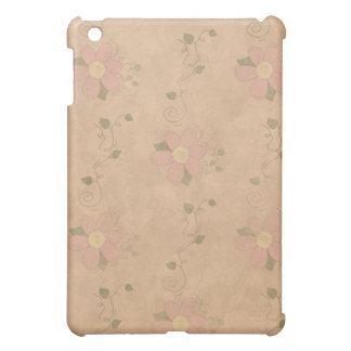 Jardin vintage floral coque pour iPad mini