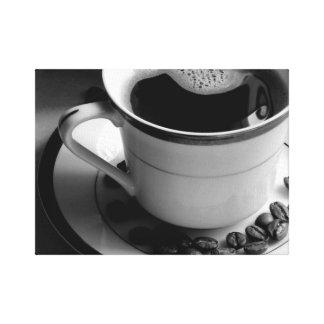 Java dunkler Brew - Leinwand