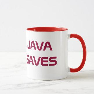 Java rettet Kaffee-Tasse Tasse