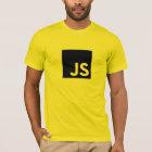 Javascript-Logo-T - Shirt (Gold)