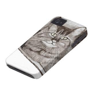 Jaz dans la fenêtre - caisse de Blackberry de chat Coques Case-Mate iPhone 4