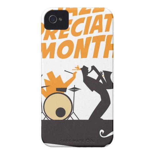 Jazz-Anerkennungs-Monat iPhone 4 Case-Mate Hüllen