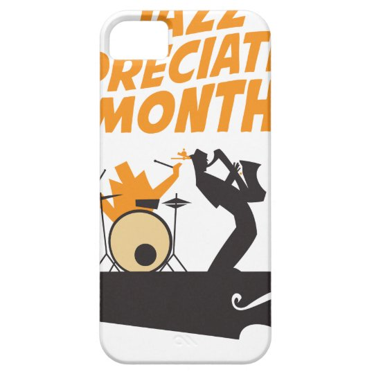 Jazz-Anerkennungs-Monat iPhone 5 Schutzhülle