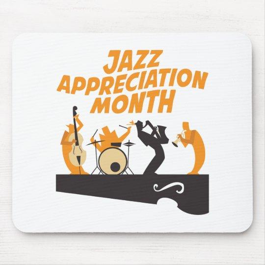 Jazz-Anerkennungs-Monat Mousepads