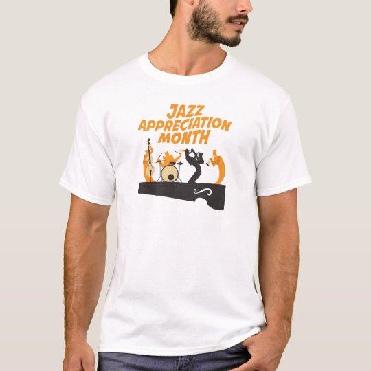 Jazz-Anerkennungs-Monat T-Shirt