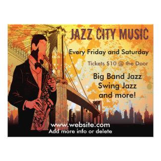 Jazz-Konzert-Musik-Flyer 21,6 X 27,9 Cm Flyer