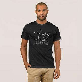 Jazz-Märtyrer-T - Shirt-Schatten-Entwurf T-Shirt
