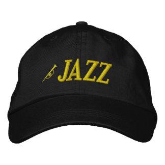Jazz-Musik-gestickter Hut Bestickte Mütze