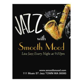 Jazz-Musik-Musiker-Flyer-Einladung