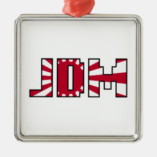 JDM - Japanische Sonne Silbernes Ornament