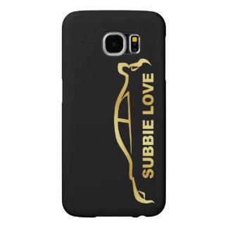 JDM Subby GoldSilhouette Liebe-(Subaru WRX WTI)