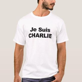 Je4 Suis Charlie - ich bin Charlie T-Shirt