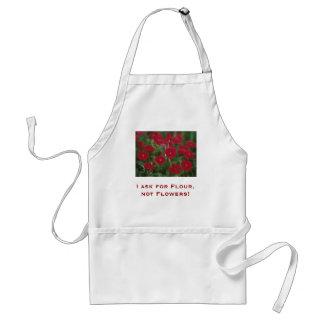 Je demande la farine pas fleurs tabliers