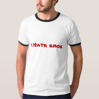 Je déteste des emos t-shirt
