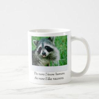Je mehr ich Menschen kenne, desto mehr ich, Tasse