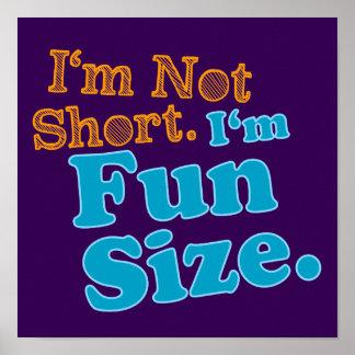 Je ne suis pas court je suis taille d'amusement