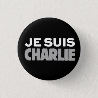 Je Suis Charlie-ICh morgens Charlie-Universeller Runder Button 2,5 Cm