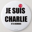 JE SUIS CHARLIE RUNDER BUTTON 15,3 CM