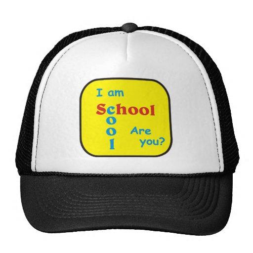 Je suis cool d'école suis vous ? casquettes