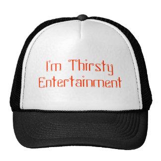 Je suis divertissement assoiffé casquettes