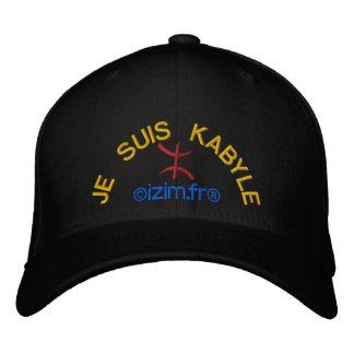 Je Suis Kabyle Bestickte Kappe
