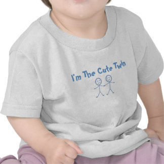 Je suis LA CHEMISE JUMELLE MIGNONNE T-shirt