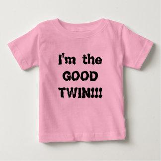 Je suis le BON JUMEAU ! ! ! T-shirt Pour Bébé