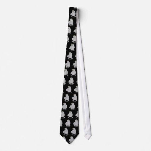 Je suis le morse cravates personnalisées