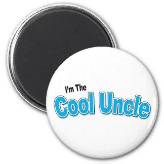 Je suis l'oncle frais magnet rond 8 cm