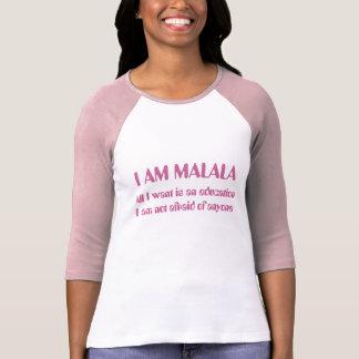 Je suis Malala non effrayé de n'importe qui T-shirt