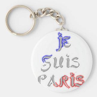 Je Suis Paris I Liebe Paris Schlüsselanhänger
