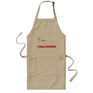 Je suis professeur tabliers