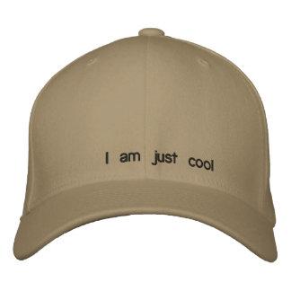 Je suis simplement frais casquette de baseball brodée