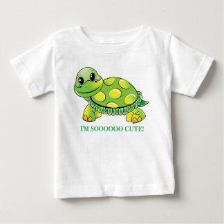 """""""Je suis SOOOOO MIGNON !""""  Tortue de bébé T-shirt Pour Bébé"""