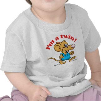 Je suis un jumeau et imitation ! Chemises mousey T-shirts