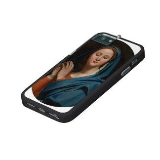 Jean Auguste Ingres- la Vierge du voile bleu Coque iPhone 5
