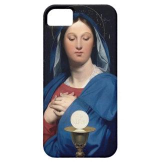 Jean Dominique Ingres- la Vierge du centre serveur Coques Case-Mate iPhone 5