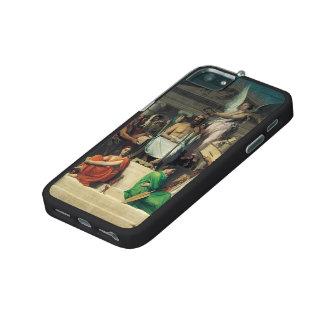 Jean Dominique Ingres- l'apothéose de Homer Coques Pour iPhone 5