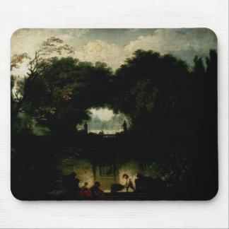 Jean-Honore Fragonard- le petit parc Tapis De Souris