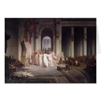 Jean-Leon Gerome- der Tod von Caesar Karte