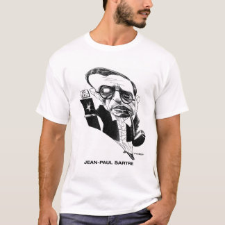 Jean Paul Sartre T - Shirt