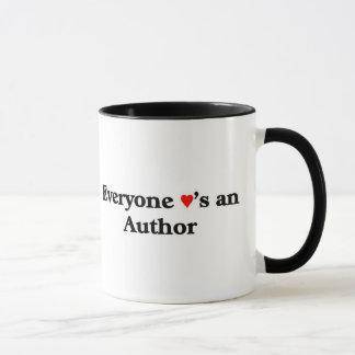 Jeder Lieben ein Autor Tasse