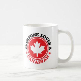 Jeder Lieben ein Kanadier! Kaffeetasse