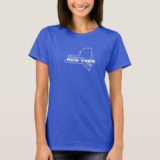 Jeder Lieben ein New- Yorkmädchen-T - Shirt